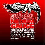 P02204 Nickel Wound Medium Комплект струн для электрогитары, никель, 13-56 Ernie Ball