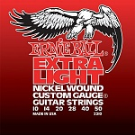 P02210 Nickel Wound Extra Light Комплект струн для электрогитары, никель, 10-50, Ernie Ball